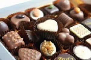Des chocolats de Noël