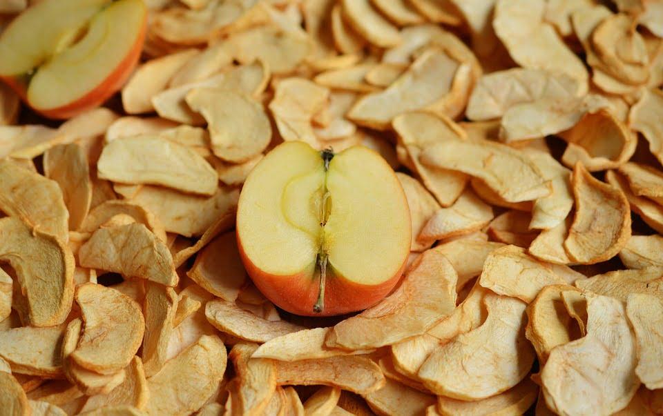 Pommes séchées